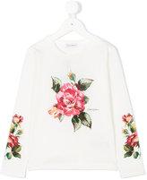 Dolce & Gabbana rose print top