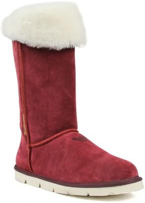 Superlamb Mongol Women's Leather Sherpa Winter Boots