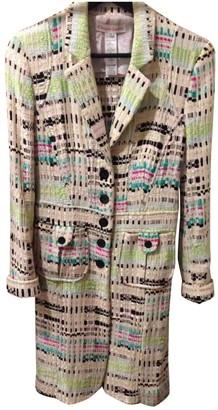 Christian Lacroix Multicolour Tweed Coat for Women Vintage