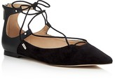 Sam Edelman Rosie Pointed Toe Lace Up Flats