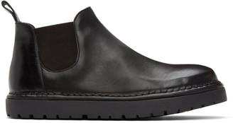 Marsèll Black Gomme Pallottola Pomice Chelsea Boots