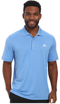 adidas Solid Jersey Polo w/ Front Logo