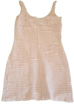 Armani Jeans Pink Cotton Dress for Women