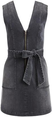 Alice + Olivia Gorgeous V-Neck Mini Dress