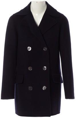 Christian Dior Navy Cashmere Coats