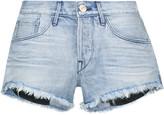 3x1 WM5 Cut-off frayed denim shorts