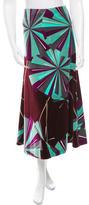 Emilio Pucci Printed Maxi Skirt