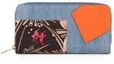 Loewe Puzzle Patchwork Zip-Around Wallet