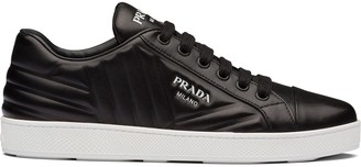 Prada Quilted Low-Top Sneakers