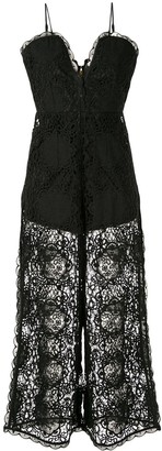 Alice McCall lace overlay jumpsuit