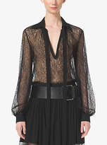 Michael Kors Chantilly Lace Blouse