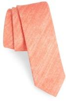 The Tie Bar Men's Freehand Solid Linen Tie
