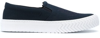 Kenzo Tiger embroidered sneakers