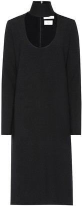 Bottega Veneta Wool-blend turtleneck midi dress
