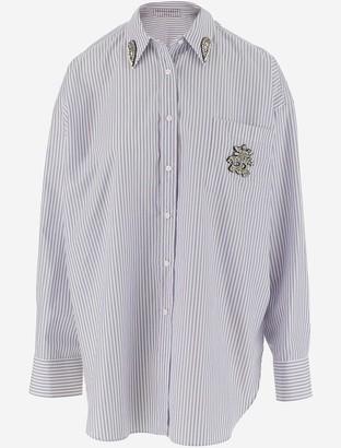 Ermanno Scervino Striped Pure Cotton Women's Casual Shirt
