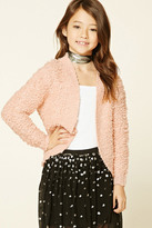 Forever 21 FOREVER 21+ Girls Loop Knit Cardigan (Kids)