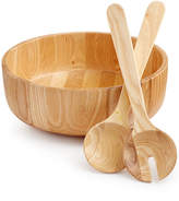 Hotel Collection Wood Salad Set, Created for Macy's