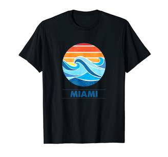Florida Vintage Surf Shirts Miami Surf T-Shirts T-Shirt