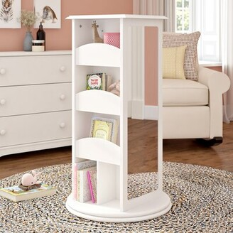 Harriet Bee Syed Rotating Storage Color: White