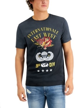 GUESS Men's Internationale Graphic T-Shirt