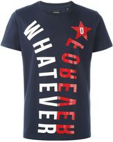 Diesel whatever print T-shirt