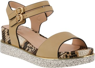 Spring Step Azura Mary Jane Wedge Sandals - Jinmia