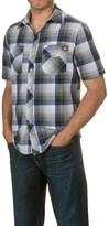 Dickies Two-Pocket Plaid Shirt - Short Sleeve (For Men)