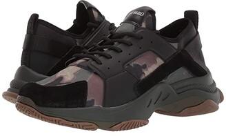 Steve Madden Modden Sneaker (Green Camo) Men's Classic Shoes