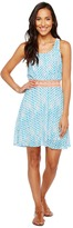 Roper 1129 Blue Peach Printed Poly Chiffon Women's Clothing