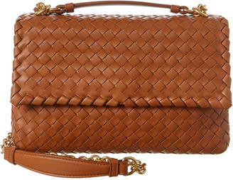 Bottega Veneta Small Olimpia Intrecciato Nappa Leather Shoulder Bag