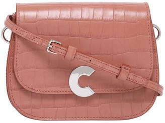 Coccinelle Craquante Croco Flap Over Crossbody Bag E1 DN7 55 01