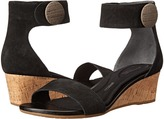 Rockport Total Motion 55mm Stone Ankle Strap Wedge Sandal
