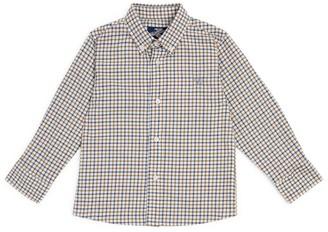 Trotters Check Thomas Shirt (2-11 Years)
