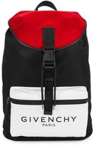Givenchy Black Logo Nylon Backpack