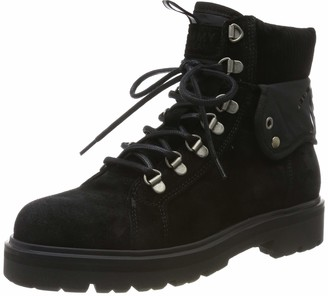 Tommy Hilfiger Women's Reflective Detail Lace Up Boot Ankle