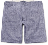 Alex Mill Slim-Fit Mélange Linen and Cotton-Blend Shorts