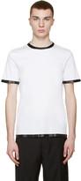 Maison Margiela White Coated T-Shirt