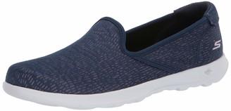 Skechers Women's GO Walk LITE-136019 Loafer Flat Gray 5.5 Medium US