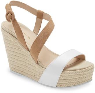 Pelle Moda Ridley Platform Wedge Sandal