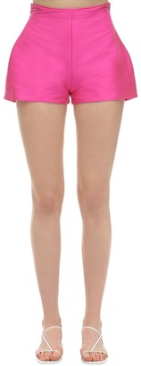 Silvia Astore Abigail Stretch Mikado Shorts