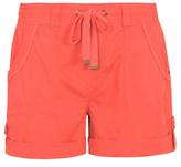 George Belted Poplin Shorts