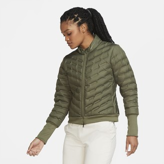 Nike Women's Full-Zip Golf Jacket AeroLoft Repel