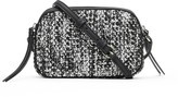 Banana Republic Tweed Double-Zip Camera Crossbody