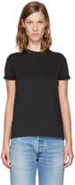 Alexander Wang Black Superfine Jersey Crewneck T-Shirt