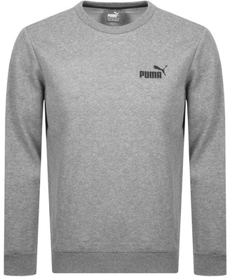Puma Essential Crew Neck Sweatshirt Grey