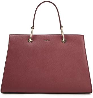 DKNY Julius Medium Textured-leather Tote