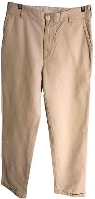 Levi's Beige Cotton Jeans