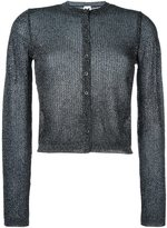 M Missoni metallic effect cardigan - women - Polyamide/Metallic Fibre - 44