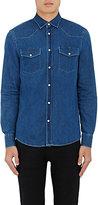 Acne Studios Men's Ewing Cotton Denim Shirt-BLUE