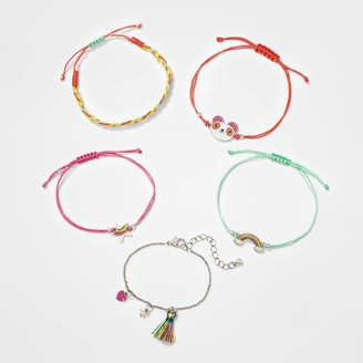 Cat & Jack Girl' 5pk Mixed Bracelet et - Cat & JackTM